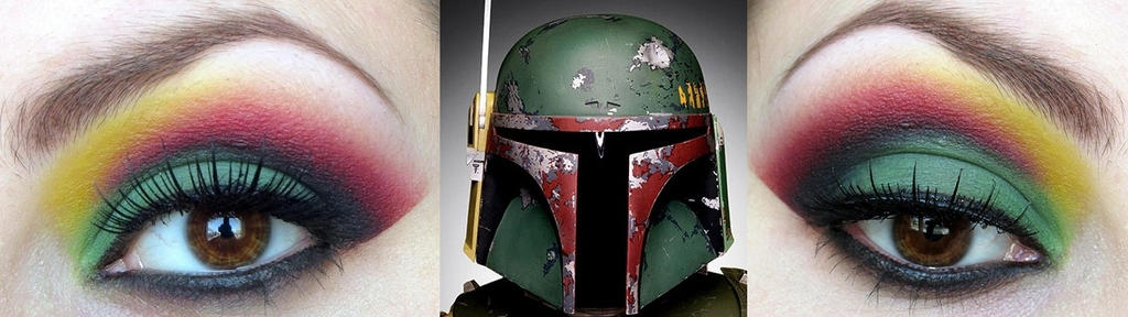 Boba Fett Makeup by ZombieFayce