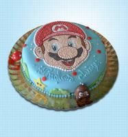 Mario cake by akr1