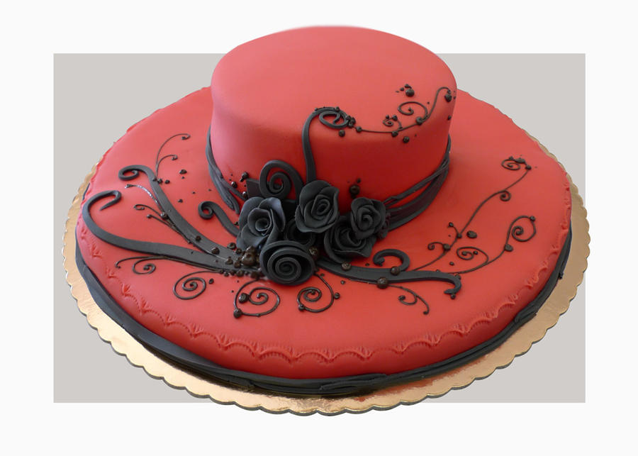 Hat cake by akr1
