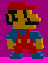 Mario by Guthixflare7