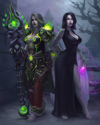 Lumen and Alexia by darkopalescence
