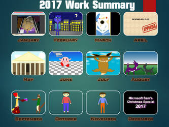 2017 Work Summary by AceOfSpadesProduc100