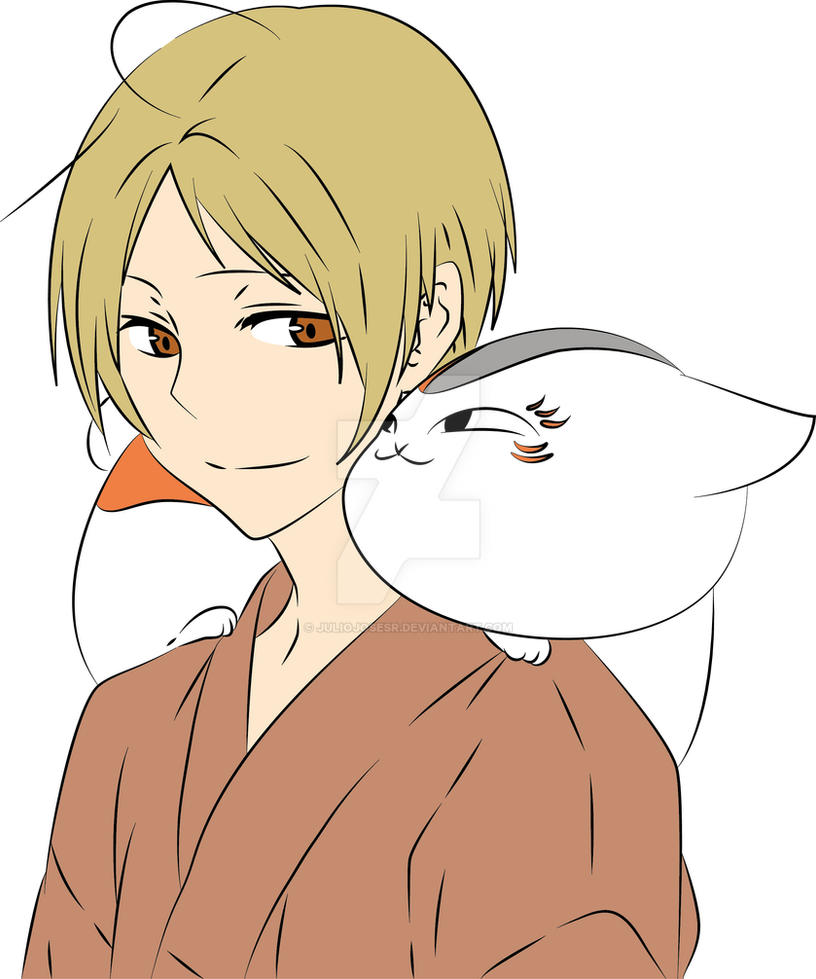 Lineal art - Natsume Part 05 Final in color by juliojosesr