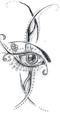 Eye tattoo by starlightluvsu