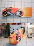 Lightcycle Papercraft