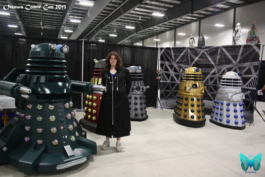 OttawaComic13 - Organization and Daleks