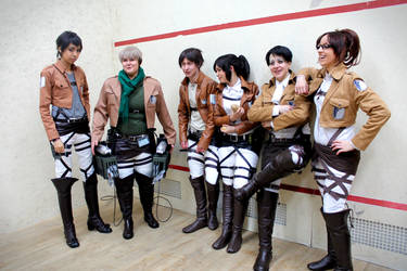 Attack on FrostCon - Scouting Legion by Midnight-Dare-Angel
