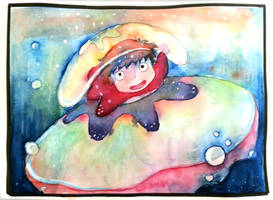 [Ghibli] Ponyo by LyDuong