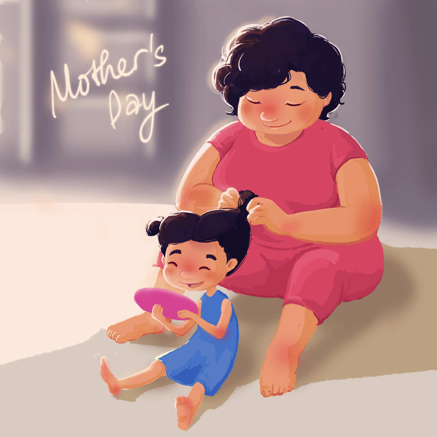 Mom by LyDuong