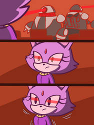 why Blaze couldn't be in Forces