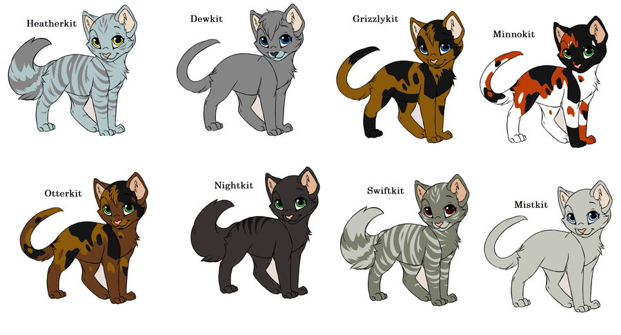 Warrior Cat Names For Bright