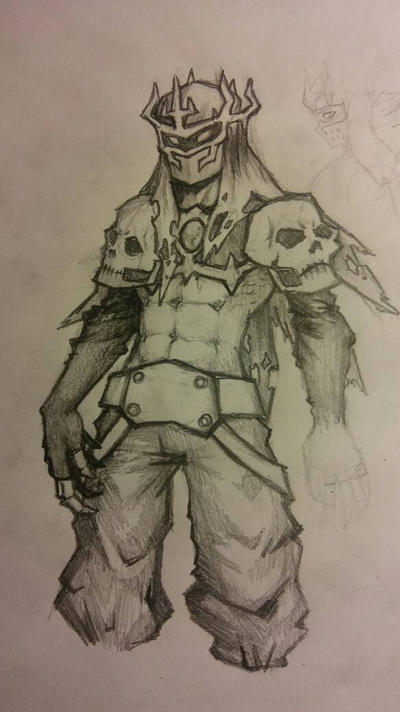 Dark Knight ripoff sketch