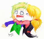Harley and Joker - Lipstick