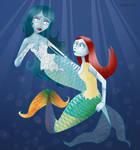 Burton's Mermaids