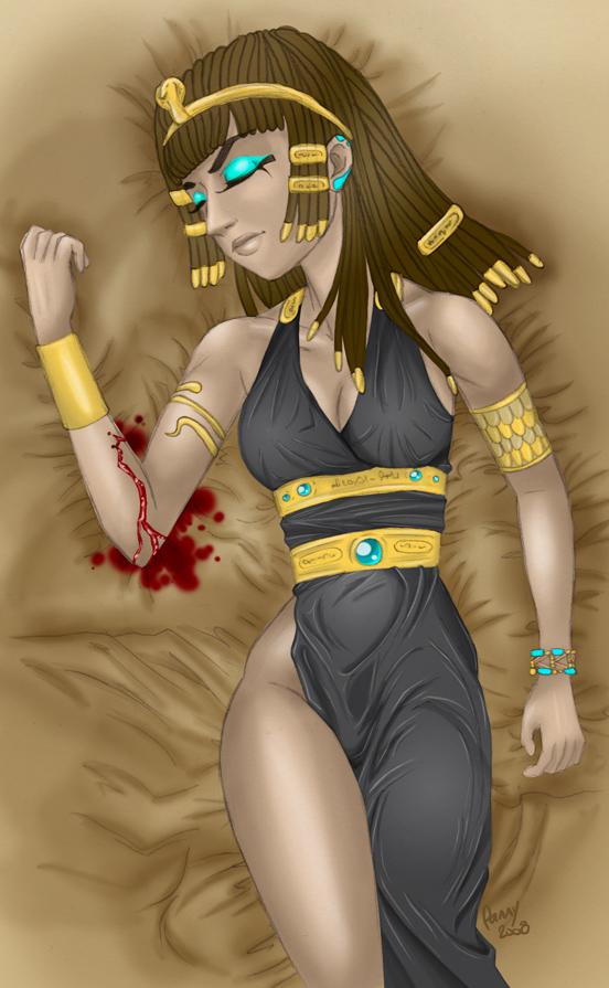cleopatra artwork