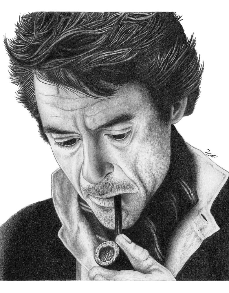 Sherlock Holmes by RobertHuffx7