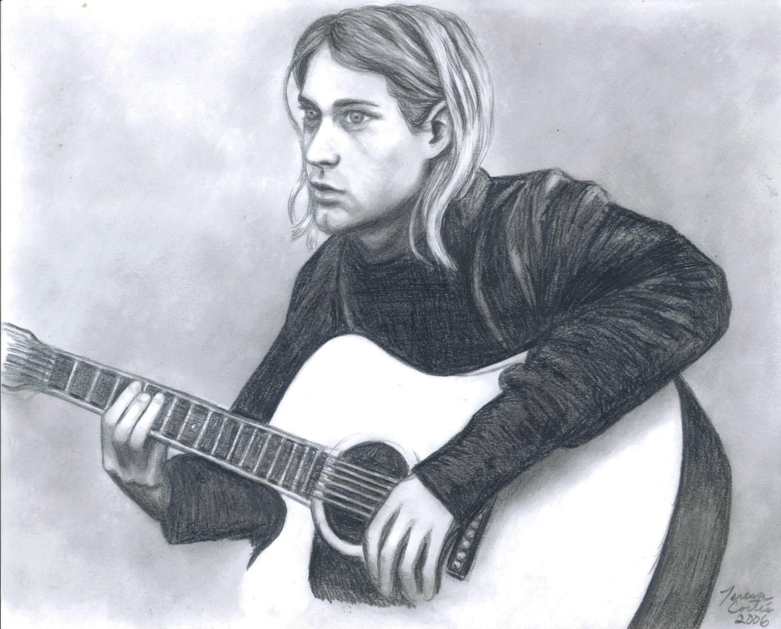 Kurt Cobain - Wallpaper