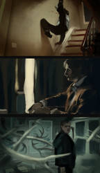Hannibal cinematography study by jebiblue