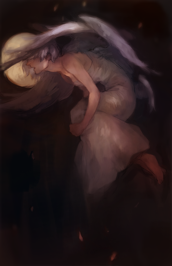 Lament of the Angel by jebiblue