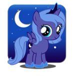 Luna Icon by SandWolf96