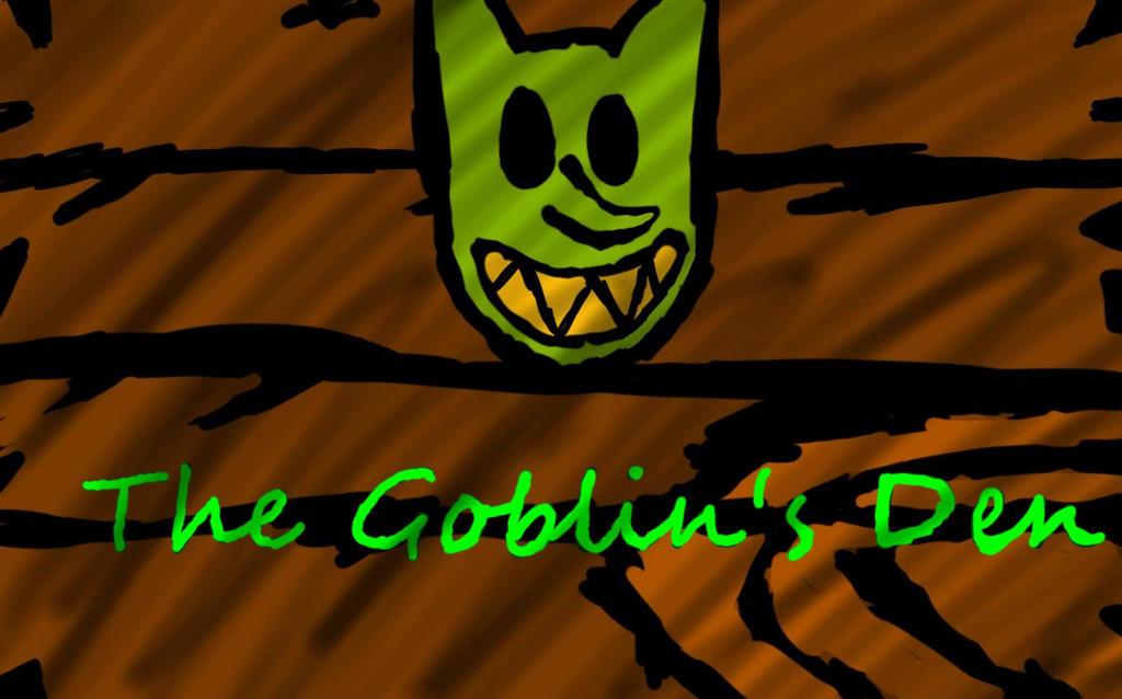 Goblin's Den Logo by GigglingMeneHune