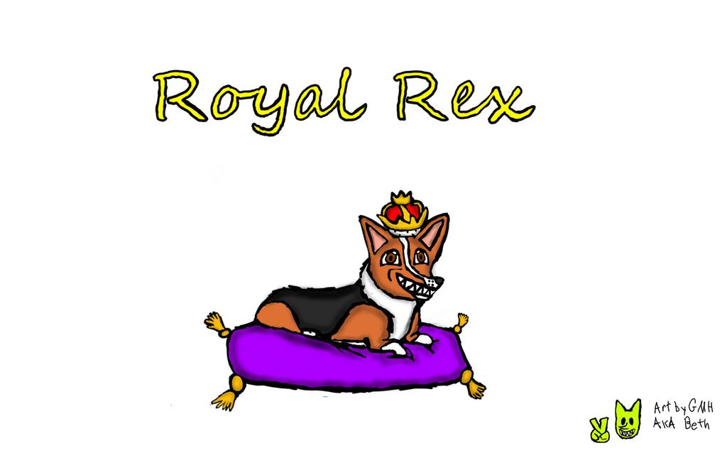 Royal Rex cover by GigglingMeneHune