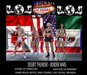 Braun Boxing Las Vegas Poster by bx2000b