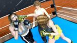 Kelly Carlson vs Lara Thomas - Round 3g by bx2000b