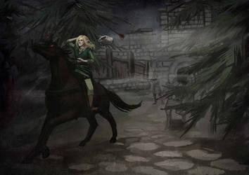 failed assassination -skyrim fanart by Janiko-neko-chan