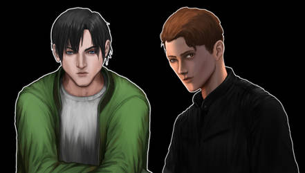 Simon Drake and Jeremy Archer by Janiko-neko-chan