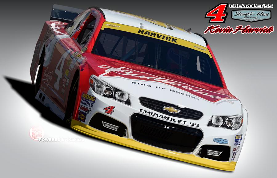 Chevrolet SS Stewart-Haas Racing #4 Kevin Harvick by kakazuracing