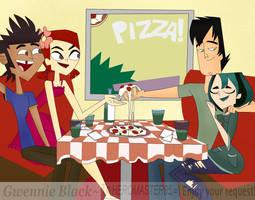 Dinner Party - HEROMASTER85's Request by GwennieBlack