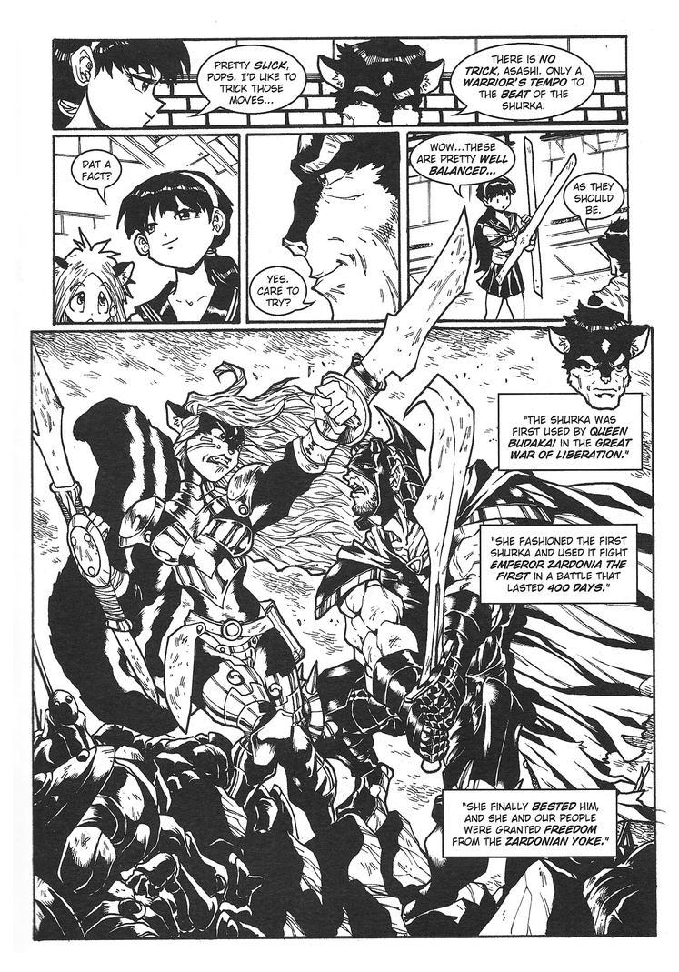 Ninja High School: Ninjas and Aliens page 7 by jimsupreme