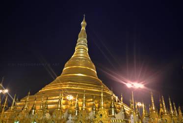 Shwe Dagone Pagoda, Golden Land, Myanmar (BURMA) by Brightsmile-didi
