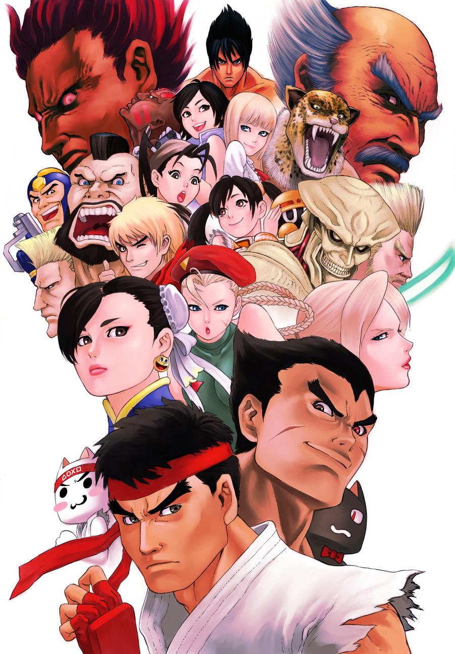 Street Fighter X Teken by solid-zonda