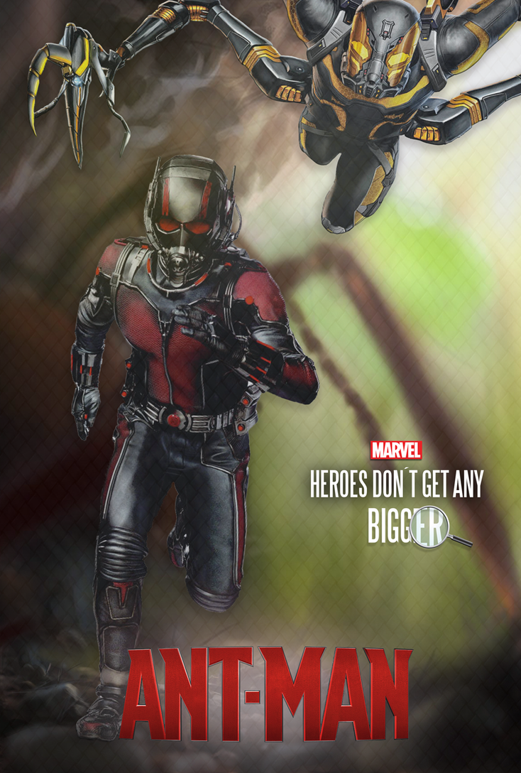antman poster by diogosnog on deviantart