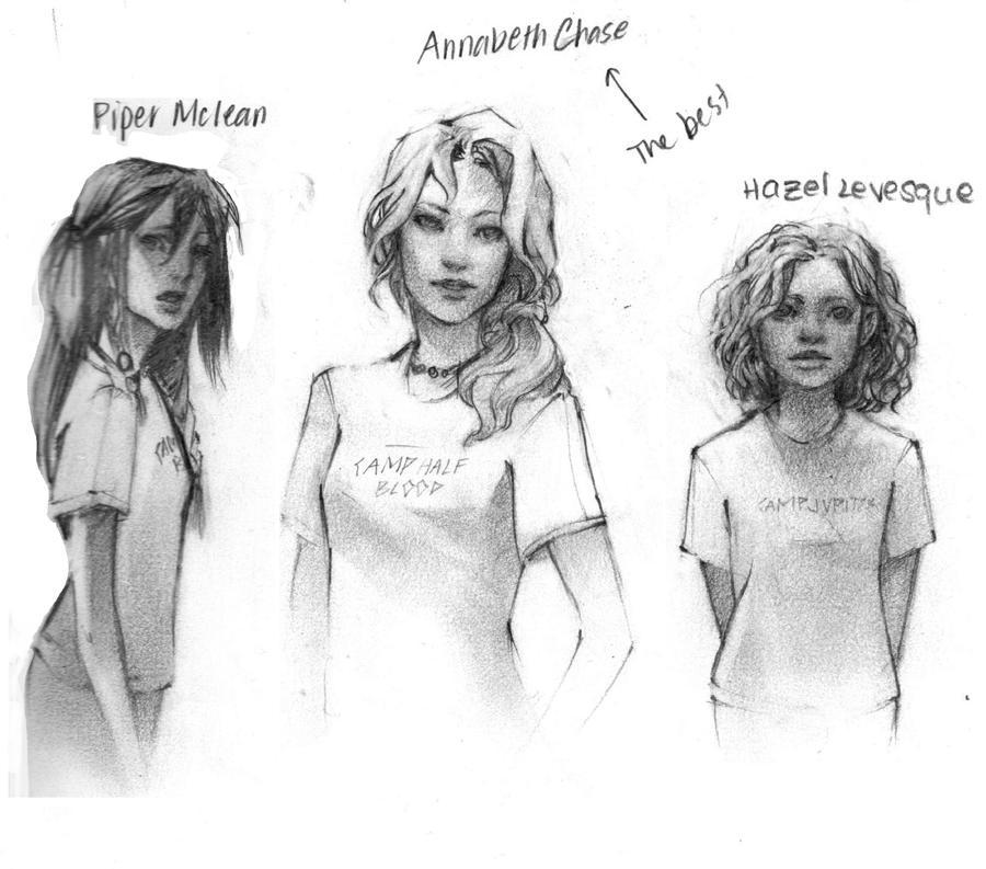 Heroines of Olympus by manillalu on DeviantArt
