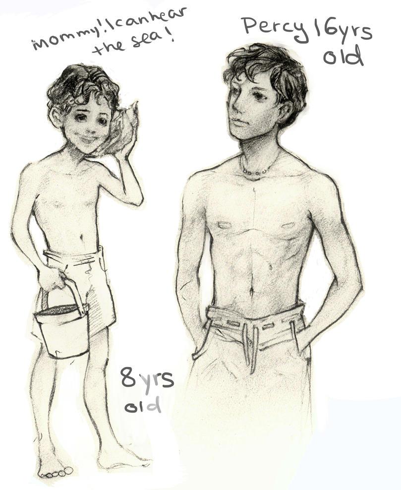 how to draw percy jackson