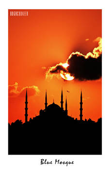 Sunset on Blue Mosque