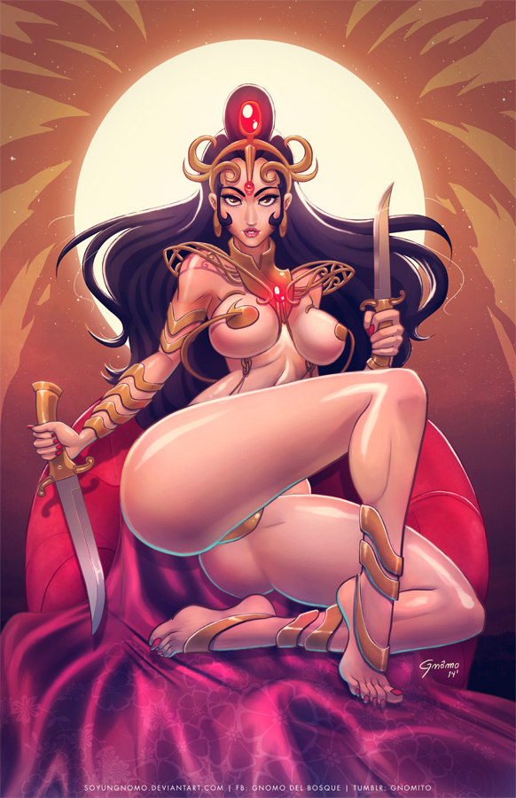 Dejah Thoris by SoyUnGnomo