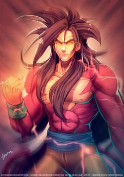 Goku Super Saiyan Level 4