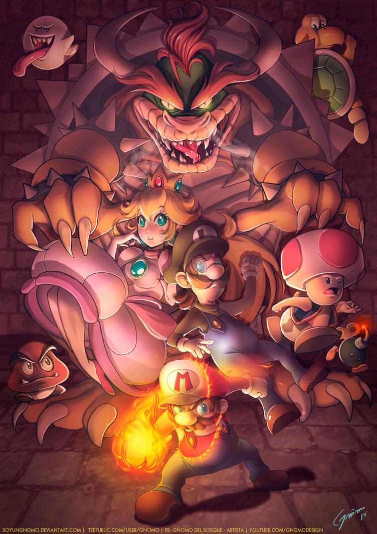 Super Mario Bros by SoyUnGnomo