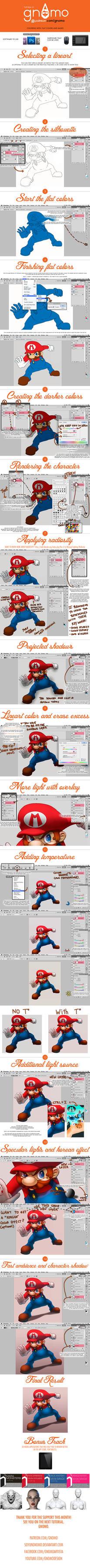 Photoshop COLOR tutorial by SoyUnGnomo