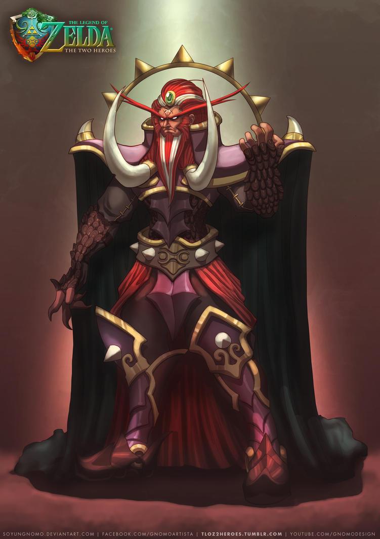 TLOZ Two Heroes Ganondorf Human form by SoyUnGnomo
