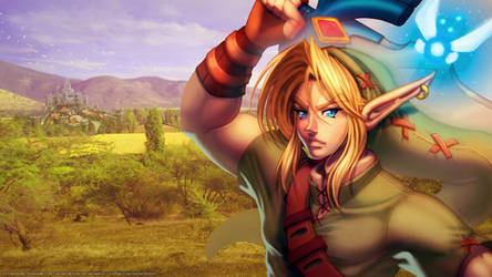 Legend of Zelda Wallpaper - Link by DasGnomo