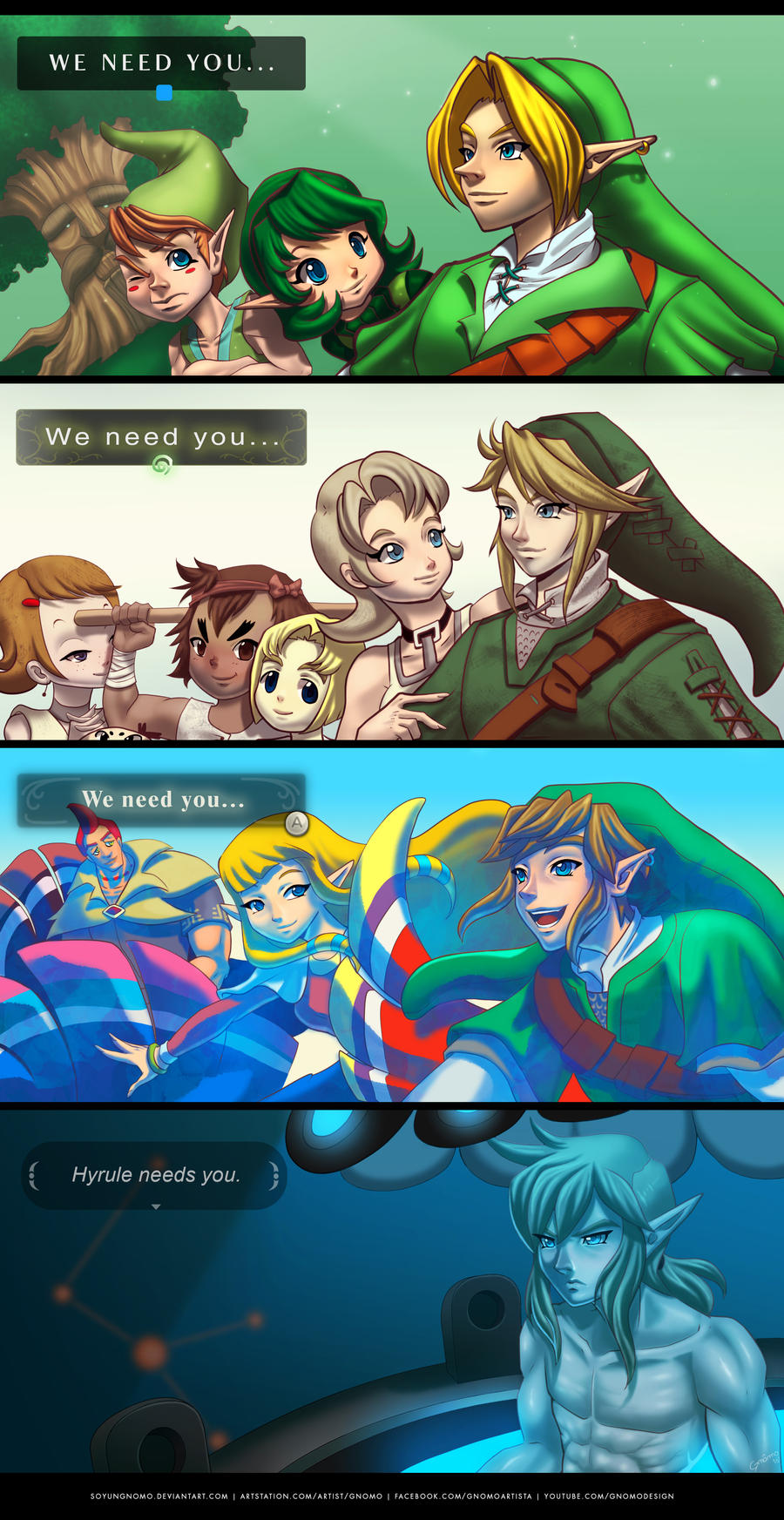 Link, Wake up... by SoyUnGnomo