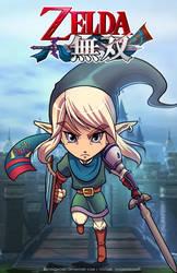 Super Cute  Link Hyrule Warrior by DasGnomo