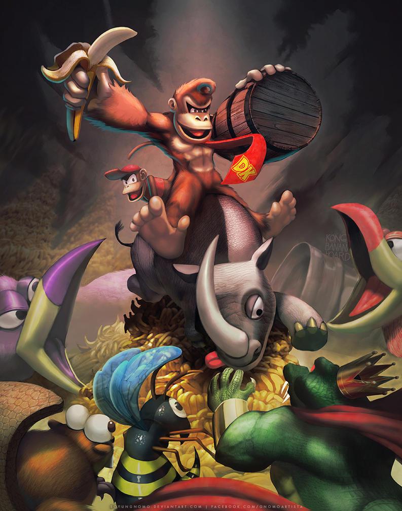 Donkey the Kongqueror by SoyUnGnomo