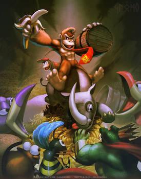 Donkey the Kongqueror