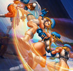 Cammy Cannon Spike for Street Fighter CCG by DasGnomo